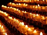 BCandle 100% Beeswax 15-Hour Votives Candles