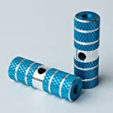 QQ Studio 2X Cylindrical Diamond Pattern Blue