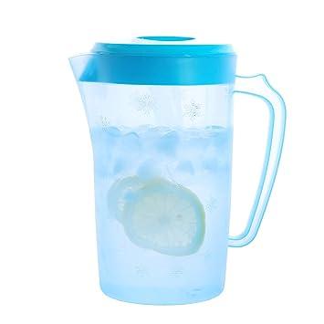 Up estilo agua fría eléctrica contenedor para el hogar y pollo (74oz, azul): Amazon.es: Deportes y aire libre