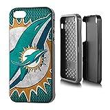 "NFL Miami Dolphins Rugged Series Phone Case iPhone 5/5s, 5.75 x 2.75"", Aqua"