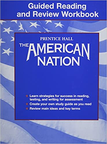 Amazon.com: American Nation : Guided Reading and Review WORKBOOK ...