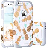 a23839de5d04 iPhone 6s Case, iPhone 6 Case Pineapple, BENTOBEN Super Slim Gold Pineapple  Design Hard