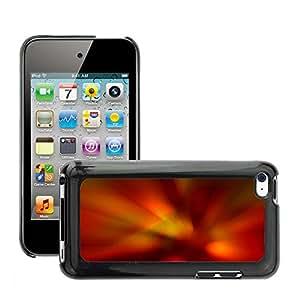 Negro Duro Carcasa Case//m000528222Colorful Multi Colors Aero//Apple iPod Touch 44G 4th
