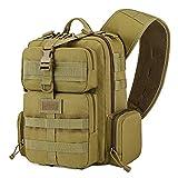 Barbarians Tactical Sling Backpack for Men, Military One Strap Shoulder Bag Single Strap