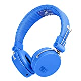 Headphones,AILIHEN C5 Headphones with Microphone & Music Sharing,Foldable Lightweight On Ear Headphone Headset for iPhone iPod iPad Mac Laptop PC (Blu