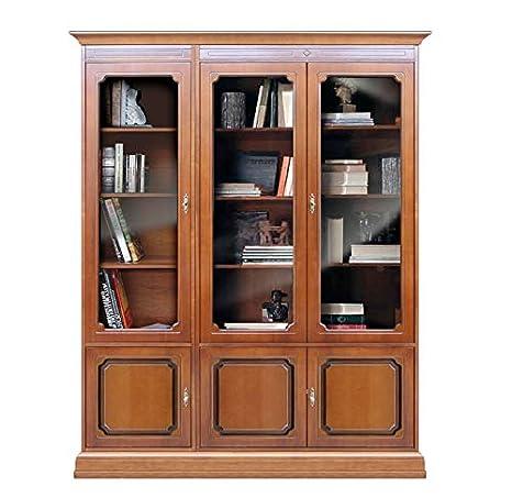 Arteferretto Librería Alta en Madera, Mueble biblioreca ...