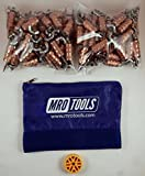 100 1/8 Standard Wing-Nut Cleco Fasteners w HBHT Tool & Carry Bag (KWN1S100-1/8)