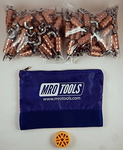 100 1/8 Standard Wing-Nut Cleco Fasteners w HBHT Tool & Carry Bag (KWN1S100-1/8) by MRO Tools Cleco Fasteners