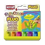 neon colour paints - Jack Richeson PlayColor Solid Poster Paints, 6 Florescent Colors