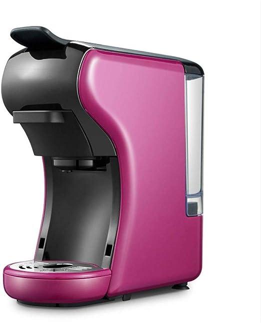 NO BRAND Máquina de café, 3-en-1 Multi-función del café Express de la máquina, Comercial Cafetera, Hogar Pequeño automática Cafetera exprés, Cápsula Máquina de café: Amazon.es: Hogar