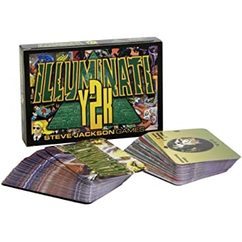 Amazon com: Illuminati: Steve Jackson: Toys & Games