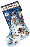 Best Gift Garden Friends Golds - Dimensions Needlecrafts Counted Cross Stitch, Snowman And Friends Review