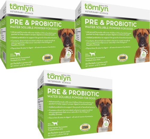 Cheapest Tomlyn Pre & Probiotic Water Soluble Powder for Dogs 90ct (3 x 30ct) Check this out.