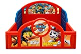 Nick Jr. PAW Patrol Sleep and Play Toddler Bed with Attached Guardrails by Delta Children