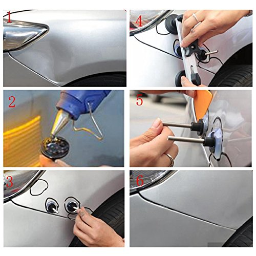 HOTPDR Car Dent Auto Body Tools Dent Puller Kit Paintless Dent Removal Tools Auto Dent Puller for Dent Repair (42 Pcs) by HOTPDR (Image #1)