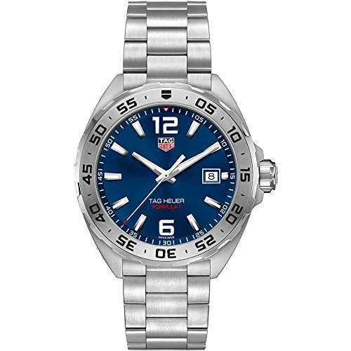 Tag Heuer Formula 1 Blue Dial Stainless Steel Men s Watch WAZ1118.BA0875