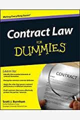 Contract Law For Dummies Kindle Edition