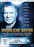 Unendliche Weiten - Die William Shatner Edition für alle Star Trek Fans (Limited Edition) [4 DVDs]