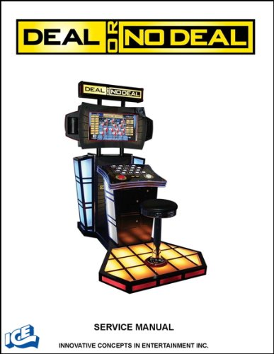 Deal or No Deal Game Operations/Service/Repair Manual/Video Arcade Machine