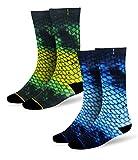 Pelagic Dorado Fishing Socks   2-Pack   Moisture Wicking   Ultra-plush comfort fit