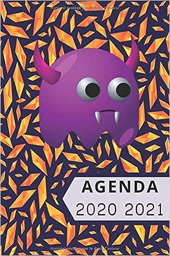 Agenda 2020 2021: Agenda Scolaire Semainier, 1 Semaine sur 2 Pages