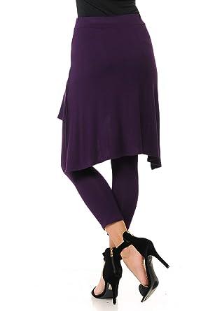 0aa5594b85c7d0 Amazon.com: Ladies Skirted Leggings: Clothing