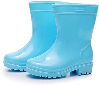 Elevin(TM) Rain Boots Shoe Kids Boys Girls Waterproof Anti Slip Rubber