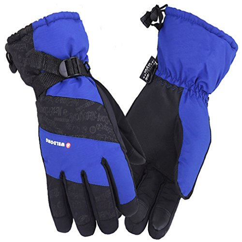 AoMagic Leisure Hiking Cycling Mountaineeringing Skiing Touch Screen RoyalBlue Gloves