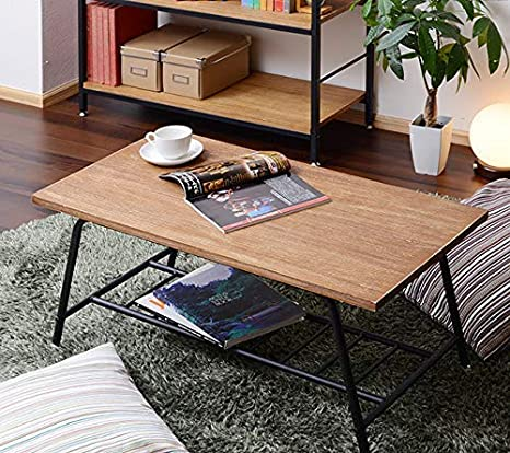 Amazon Co Jp Simple Table Antique Design Table Modern Storage Beauty Salon Antique Natural Wood Table Antique Center Table Antique Wide 35 4 Inches 90 Cm Living Table Coffee Table Wooden Living Room Shelf Included
