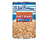 Blue Runner Creole Cream Style Navy Beans (6-pack of 16-ounce cans)
