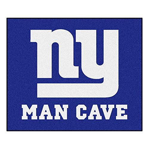 Rug Tailgater Giants (Fanmats 14343 NFL New York Giants Nylon Universal Man Cave Tailgater Rug)