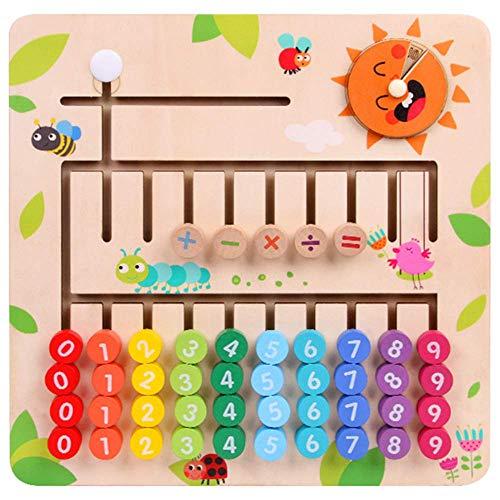 Muyindo Montessori Toys Digital Computing Toys Early Education Toys Mathematic Skills and Color