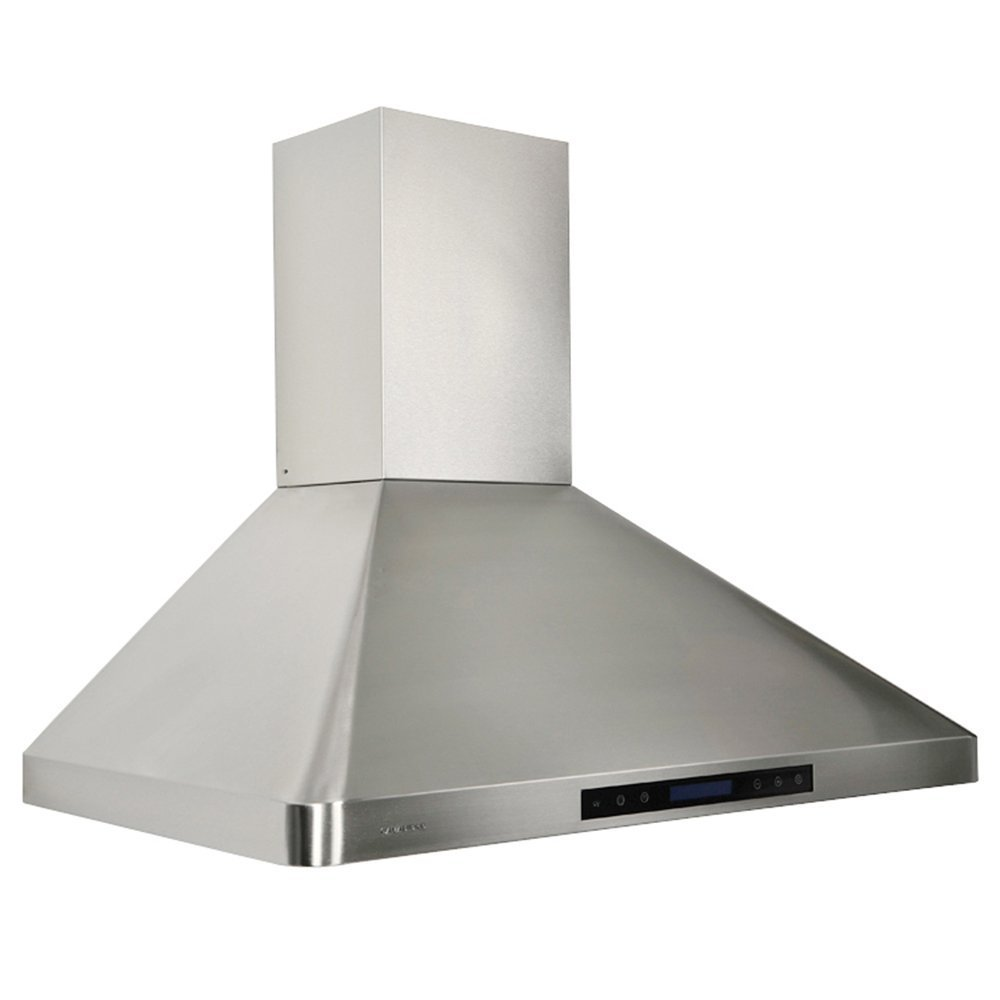 amazoncom cavaliere ap238ps3136 wall mounted stainless steel kitchen range hood with remote control 900 cfm appliances