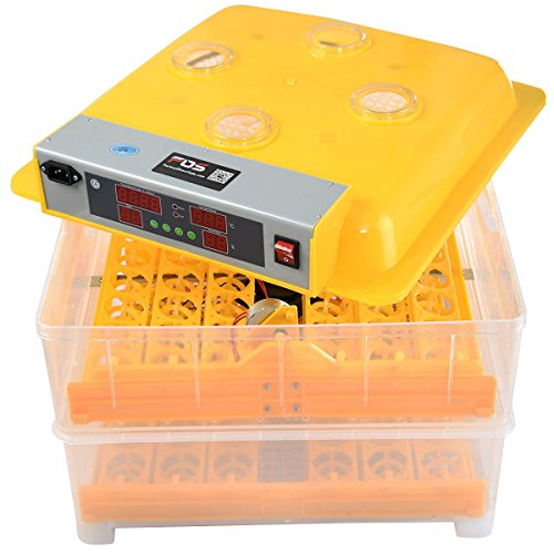 96 Egg Digital Incubator Hatcher Temperature Control Chicken Hatch