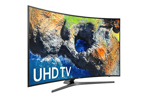 Samsung Electronics UN49MU7500 Curved 49-Inch 4K Ultra HD Smart LED TV (2017 Model) (Samsung 50 Curved Tv)