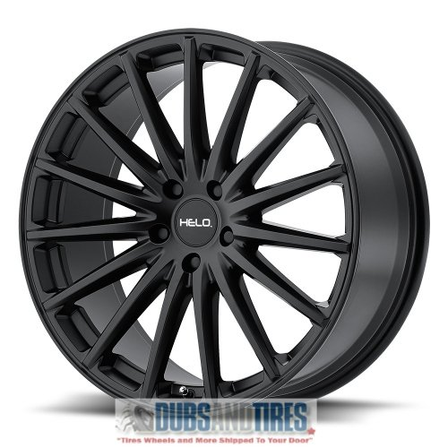 Helo HE894 Satin Black Wheel