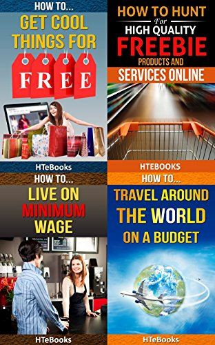 4 Books in 1 - How To Get Free Stuff, How To Get Cheap Stuff, How To Travel Cheaply, Frugal Living, Freebie Receiving, Frugal Traveler, Money Management, ... Travel, Budget Planner (How To Be Frugal)