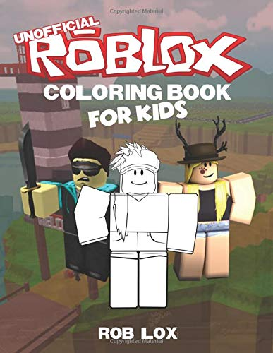 Roblox Coloring Book For Kids 60 Coloring Pages For Toddler