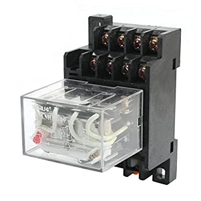 HH64P-L AC110V 10A Coil 14-Pin 4PDT 4 Pole Electromagnetic Power Relay