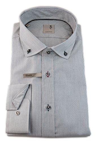 Seidensticker - Camisa casual - Rayas - con botones - Manga Larga - para hombre