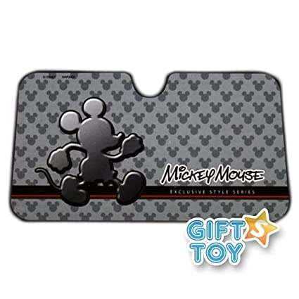 Image Unavailable. Image not available for. Color  New Disney Mickey Mouse  Front Car Windshield Sunshade 67dcc095368