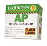 img - for Barron's AP Human Geography Flash Cards (Barron's: the Leader in Test Preparation) by Meredith Marsh M.A. (2009-03-01) book / textbook / text book