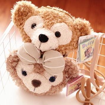 57a97f3e6839 Amazon.com : candice guo! cute cartoon couple duffy bear shelliemay ...