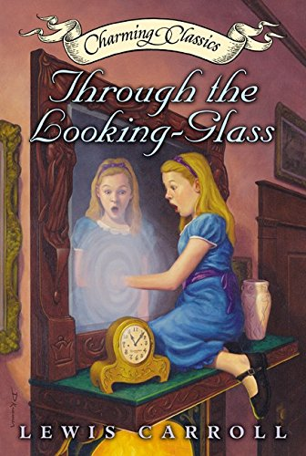 Glass Classic Charm - Through the Looking-Glass Book and Charm (Charming Classics)