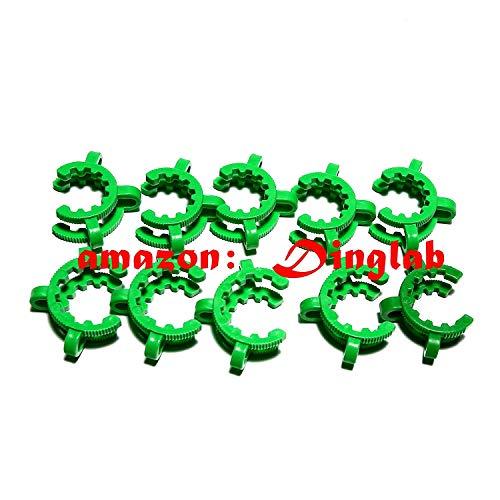 (Dinglab,Plastic Keck,24/40,Laboratory Lab Clamp Clip,Keck Clip,24/29,24# Conical Interface Clip,10pcs)