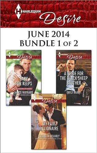 book cover of Harlequin Desire June 2014 - Bundle 1 of 2