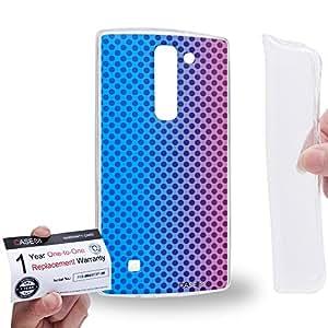 Case88 [LG G4 Mini (G4c)] Gel TPU Carcasa/Funda & Tarjeta de garantía - Art Fashion Sunset Halftones Fashionista