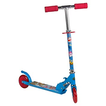Super Wings - Scooter 2 ruedas 72-77 cm aluminio (ColorBaby 77010)