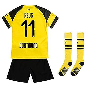 Bestseller einkaufen Modestil von 2019 wähle authentisch Fußball-T-Shirt Sportanzug Trikot, Borrusia Dortmund BVB Home #22 Christian  PULISIC, Reus #11 HeimFußball-Sportbekleidung, Jungen-T-Shirt Für Kinder +  ...