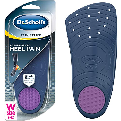 Dr. Scholl's HEEL Pain Relief Orthotics // Clinically Proven to Relieve Plantar Fasciitis, Heel Spurs and General Heel Aggravation (for Women's 5-12, also available for Men's 8-12)